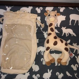 Other - Stuffed Sophie giraffe that rattles